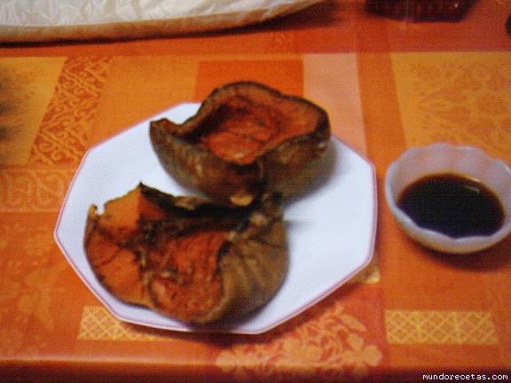 Receta de Calabaza asada con miel