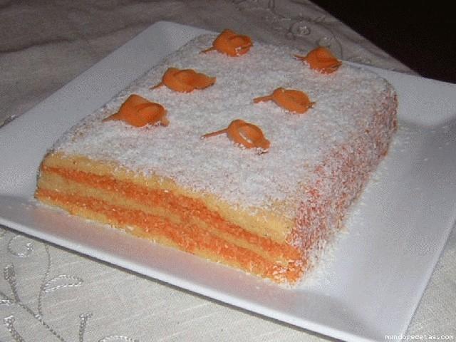 Tarta facil de zanahoria y coco - Canal cocina thermomix ...