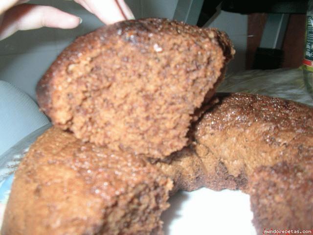 Receta de Bizcocho de actimel y chocolate