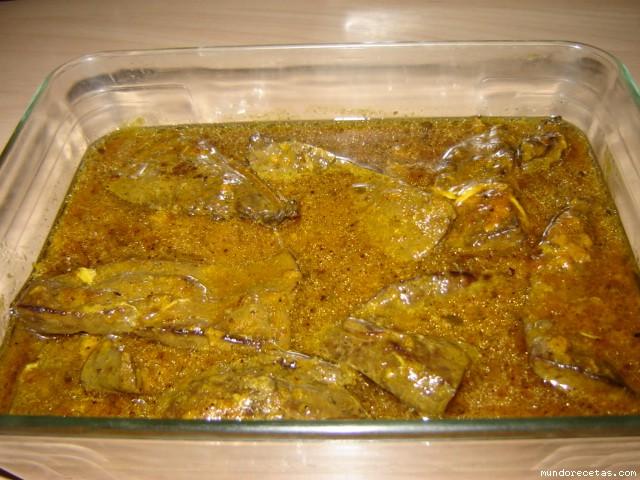 H gado de ternera en ajillo for Cocinar higado de ternera