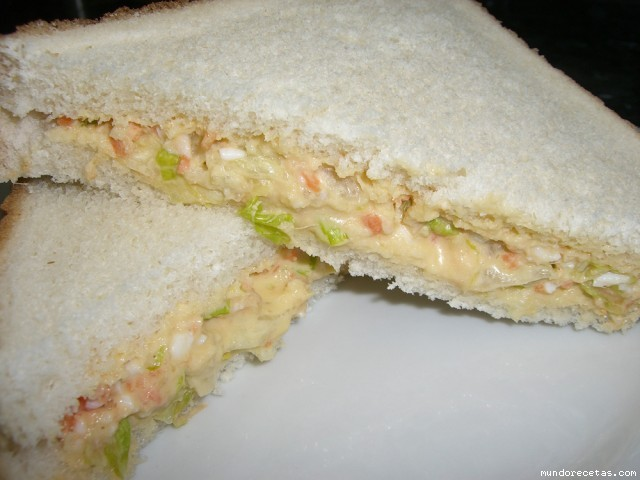 Sandwiches Vegetales Thermomix