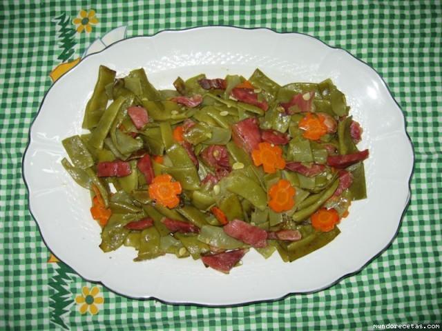 Jud as verdes con jam n serrano - Tiempo coccion judias verdes ...