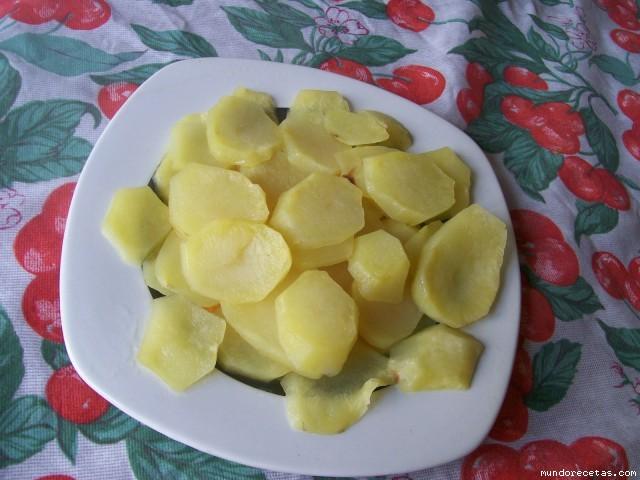 Receta de Patatas asadas en microondas