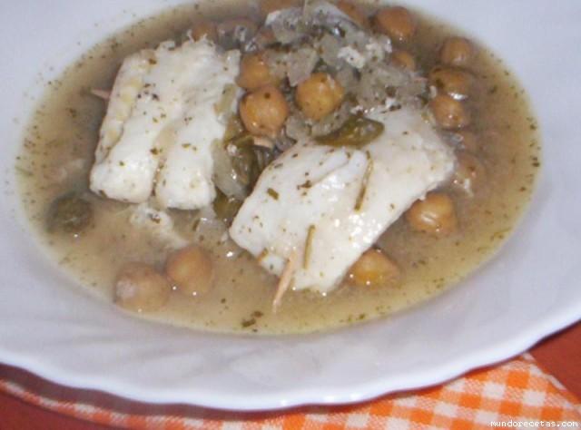 Receta de Carpione de pescado con garbanzos