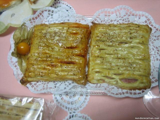 Masa de hojaldre baja en grasas