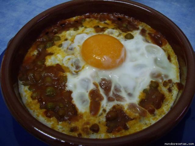 Huevos al plato r pidos for Platos rapidos
