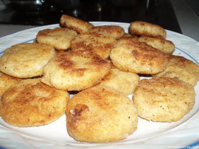 Albondigas de patata con queso feta - Albondigas de patata ...