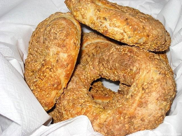 Receta de SIMIT (Roscas de pan turcas)