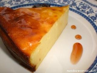 receta tarta de queso sin nata