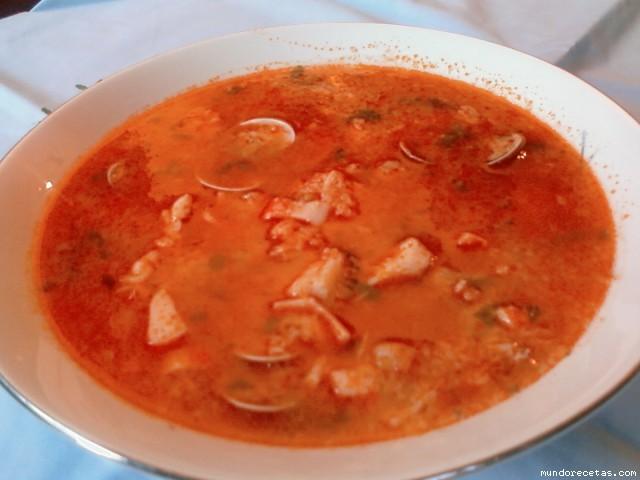 Sopa de pescado marisco y s mola - Sopa de marisco y pescado ...