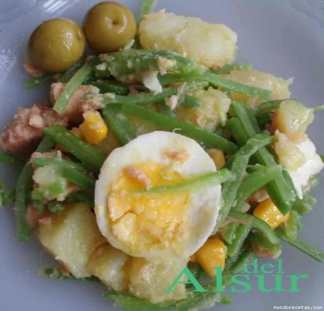 Ensalada de judias verde y patatas - Tiempo de coccion de judias verdes ...
