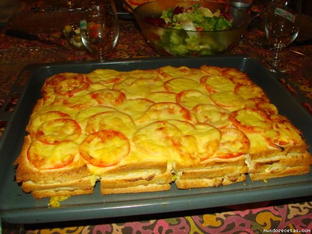 Tarta de pan caliente II