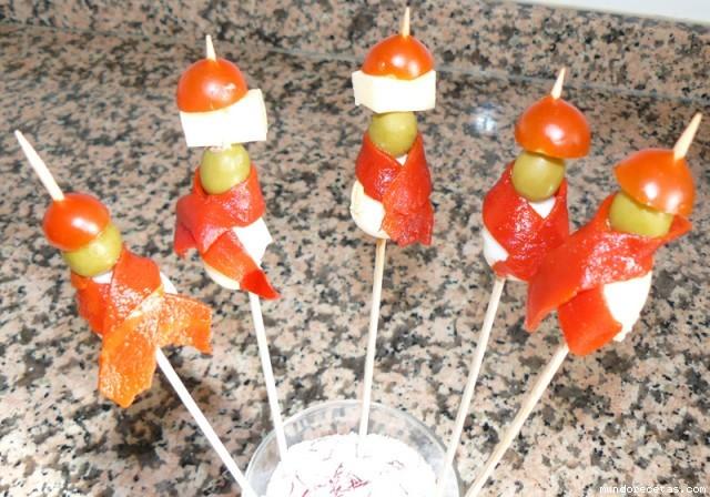 Calaveras con bunfanda for Tapas frias para fiestas