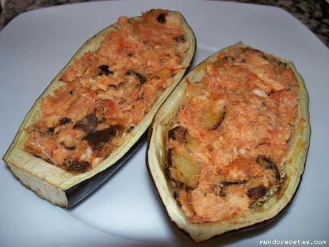Berenjenas rellenas de bacalao y tomate - Berenjenas rellenas de bacalao ...