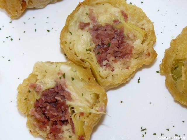 recetas de alcachofas rebozadas