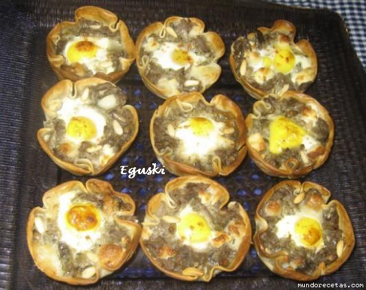Cestas de berenjenas thermomix for Cocinar berenjenas facil
