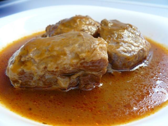 Receta de Carrilleras de cerdo iberico al vino tinto