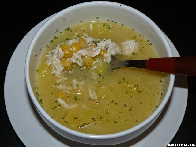 Receta de Sopa del corral