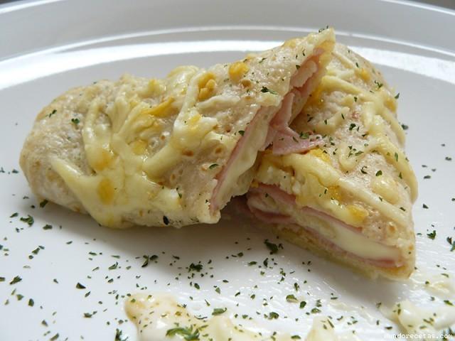 Crepes salados rellenos de jamon y queso taringa - Profiteroles salados rellenos ...