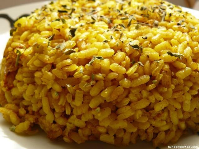 Receta de Arroz al curry (para guarnición)