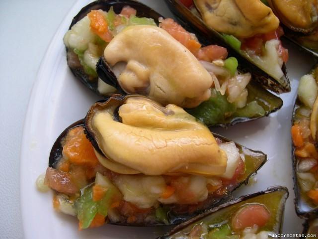 Mejillones con ensalada muy poquitas calor as fotos - Ensaladas con pocas calorias ...