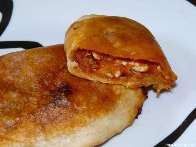 Receta de Empanadillas (cocotets de tomaca)