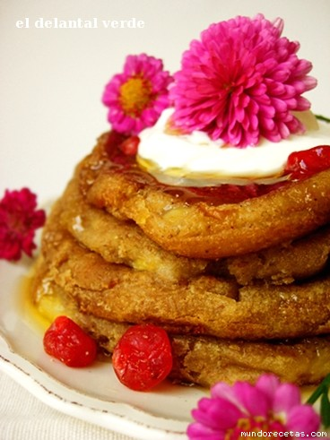 Receta de Tortitas de plátano (sin huevo)