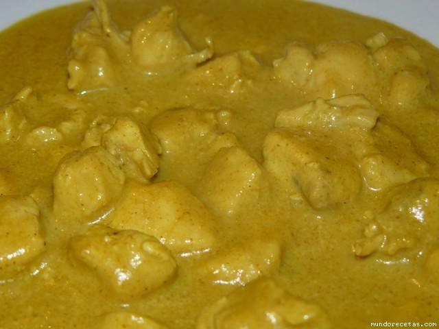 Receta de Pollo al curry (con leche de coco)