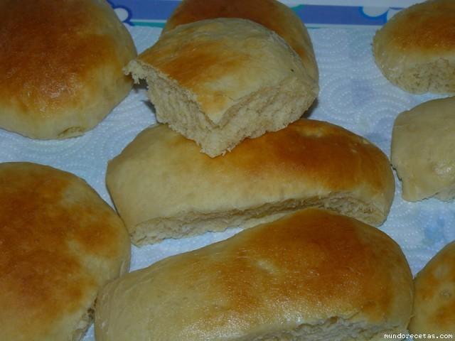 Receta de Panecillos para hot-dogs (Perritos calientes)