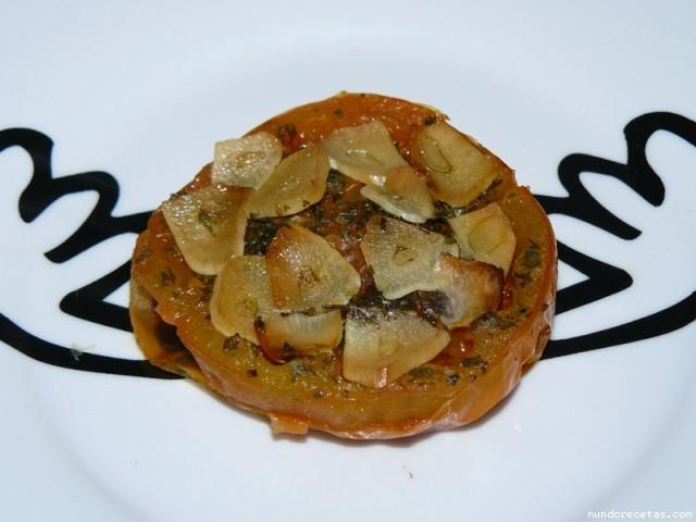 Receta de (Tomates al horno) Reyons de masero