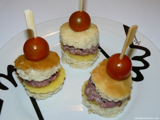 Mini hamburguesas caseras - Hamburguesas vegetarianas caseras ...