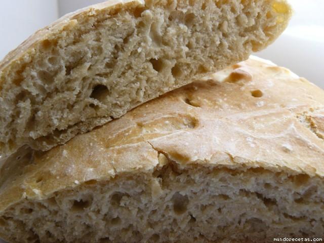 Receta de Pan chapata (Capisi)