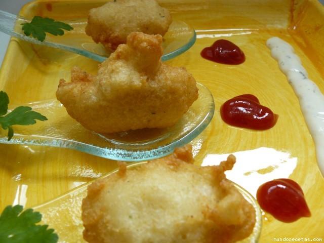 Receta de Buñuelos de pescado