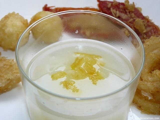 Receta de pescado en salsa blanca