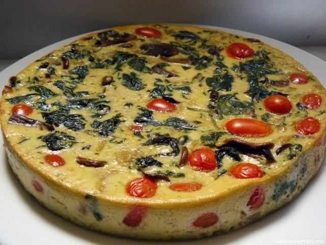Tortilla con verduras al horno - Verduras rellenas al horno ...