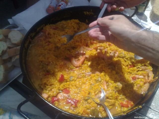 Paella para 20 personas for Cocinar para 20 personas