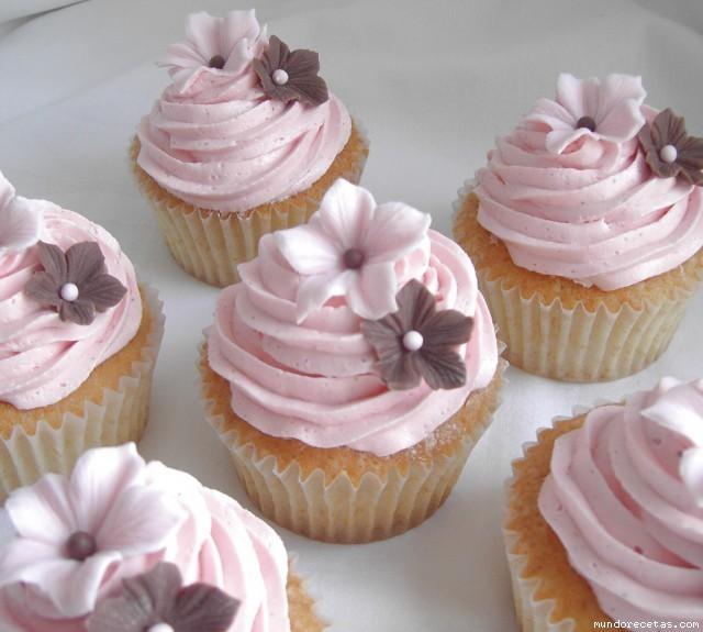 Merengue para decorar cupcakes - Imagui