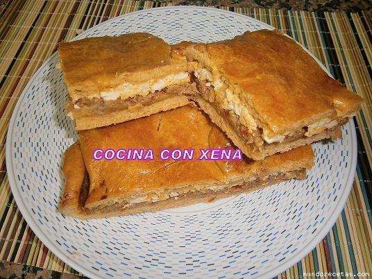 Receta de Empanada gallega, muy buena