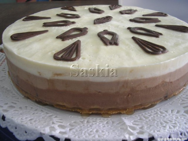 TARTA TRES CHOCOLATES LA ORIGINAL (Thermomix)