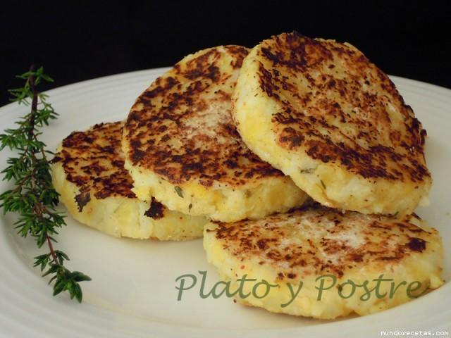 Receta de Tortitas de Coliflor y Patata