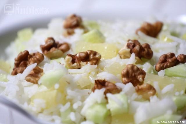 Ensalada de arroz y pi a - Ensalada de arroz light ...