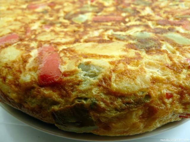 Receta de Tortilla paisana (capisi)