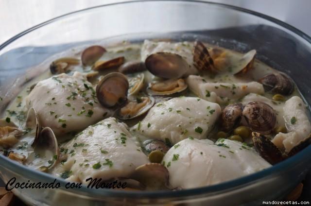 Merluza en salsa al microondas cocina y thermomix for Cocina al microondas