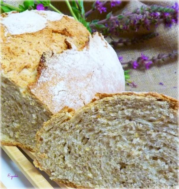 Pan con prefermento en pirex kitchenaid horno tradicional for Pane con kitchenaid