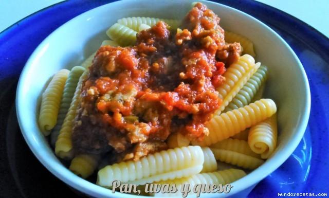 Salsa boloñesa en Crock-Pot